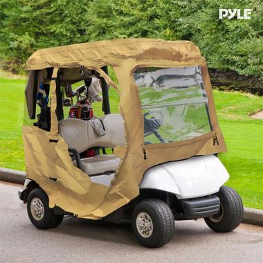 PYLE PCVGFCP90 CLUB CAR PRESIDENT GOLF CART ENCLOSURE, Thumbnail 6