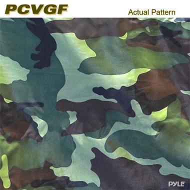 PYLE PCVGFYM71 YAMAHA DRIVE GOLF CART ENCLOSURE, CAMO Thumbnail 5