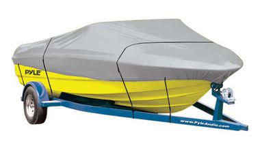"""PYLE PCVHB220 BOAT COVER 14' - 16'L BEAM WIDTH TO 75"""" Thumbnail 1"""