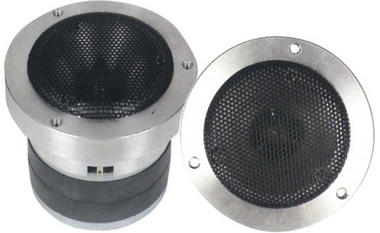 "Pyle Door Dash Flush Fit 500w Heavy Duty 1"" Bullet Horn Tweeter Single Thumbnail 1"