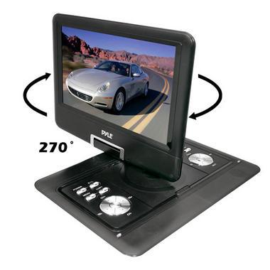 "Pyle-Home PDH14 14""Portable Tft/Lcd Monitor W/ Dvd Thumbnail 6"