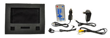 Pyle PDH7 7'' Portable TFT LCD Monitor w/ Built-In DVD Player MP3/MP4/USB SD Slot Thumbnail 8