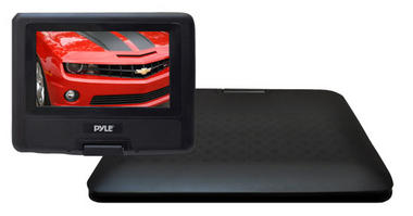 Pyle PDH7 7'' Portable TFT LCD Monitor w/ Built-In DVD Player MP3/MP4/USB SD Slot Thumbnail 5