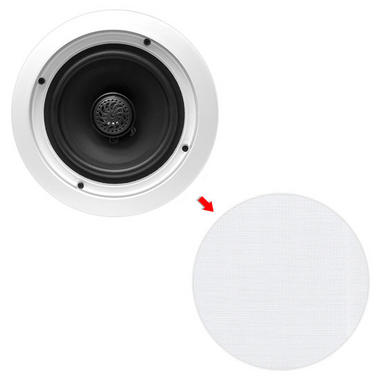 "Pyle PDIC60T 6.5"" 2-Way In-Ceiling In-Wall Speakers 70V Tap Tapping Transformer Thumbnail 6"