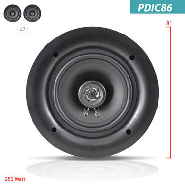 "PYLE-HOME PDIC86 8"" IN CEILING SPEAKER Thumbnail 5"