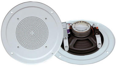 Pyle-Home PDICS54 5'' Full Range In Ceiling Speaker System W/Transformer Thumbnail 1