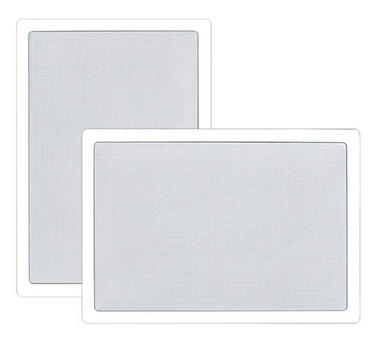 Pyle PDIW65 6.5'' Two-Way In-Wall Speaker System Pair White Ceiling Built-In Thumbnail 1