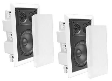 """Pyle-Home PDIW87 Pyle 8"""" Back Enclosed Inwall Speakers Thumbnail 1"""
