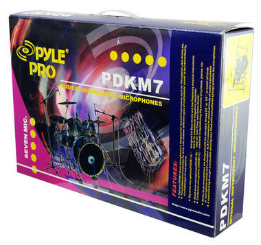 Pyle-Pro PDKM7 7 Microphone Wired Drum Kit with Mounting Accesories Thumbnail 8