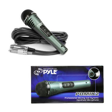 Pyle Pro PDMIK2 Professional Wired Moving Coil Dynamic Handheld Microphone Thumbnail 3