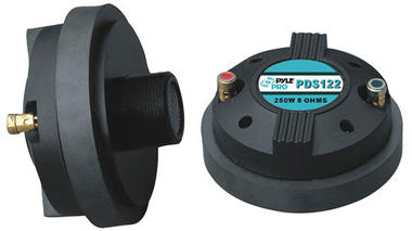 Pyle-Pro PDS122 250 Watt 1.5-inch Titanium Compression Horn Driver (Screw-on Type) Thumbnail 1