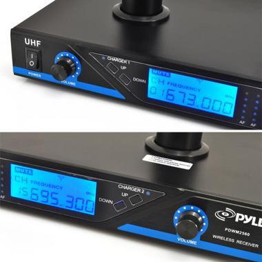 PYLE-PRO PDWM2560 UHF WIRELESS MICROPHONE SYSTEM Thumbnail 3