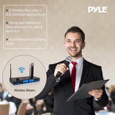 PYLE-PRO PDWM2560 UHF WIRELESS MICROPHONE SYSTEM Thumbnail 6