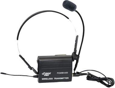 PYLE-PRO PDWM4400 - 4 Mic VHF Wireless Lavalie/ Headset System Thumbnail 4
