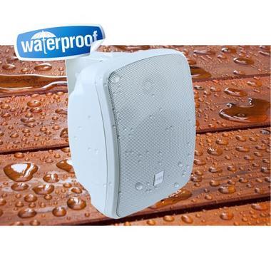 "Pyle Bluetooth Waterprooof Indoor Outdoor 5.25"" 135mm 600 Watt White Speakers Thumbnail 6"