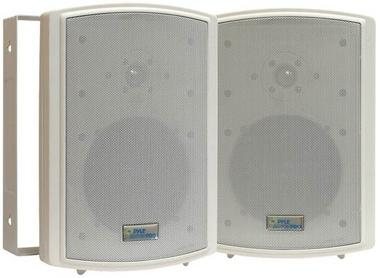 "Pyle PDWR63 6.5"" Indoor Outdoor WaterProof Marine Patio Box Speakers Thumbnail 1"