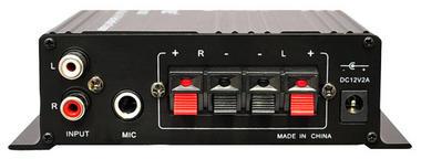 Pyle PFA200 60 Watt Class-T Hi-Fi Audio Amplifier with AC Adapter Included Thumbnail 4
