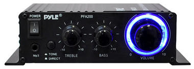 Pyle PFA200 60 Watt Class-T Hi-Fi Audio Amplifier with AC Adapter Included Thumbnail 3