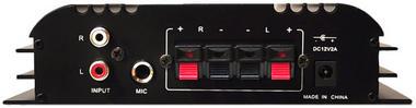 Pyle PFA400U 100W Class T Hi-Fi Amplifier USB/SD iPod Player With AC Adapter Thumbnail 4