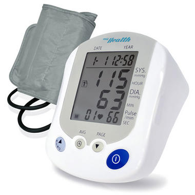 Pyle PHBPB20 Bluetooth Smart Blood Pressure Monitor with Health Tracking App Thumbnail 1