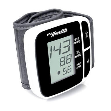 Pyle PHBPBW40BK Bluetooth Smart Blood Pressure Monitor Black Thumbnail 1