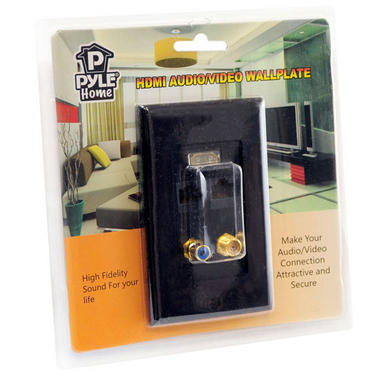 Pyle-Home PHDM2RB2 HDMI/Mono RCA Audio/Coaxial/ Dual Ethernet With Wall Fixing Thumbnail 3