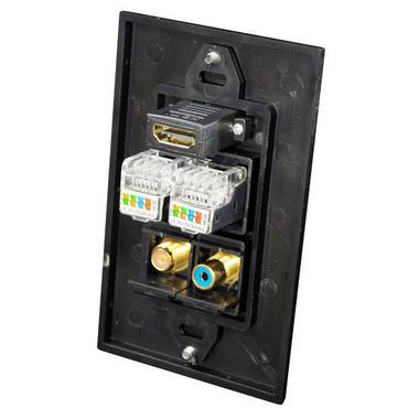 Pyle-Home PHDM2RB2 HDMI/Mono RCA Audio/Coaxial/ Dual Ethernet Thumbnail 3
