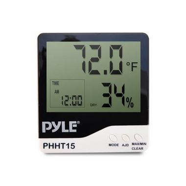 Pyle PHHT15 Digital Hygro Thermometer Humidity Meter Indoor Weather Station Thumbnail 3