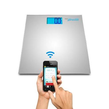 Pyle PHLSCBT2SL Bluetooth Digital Weight Scale Wireless Data Transfer + App