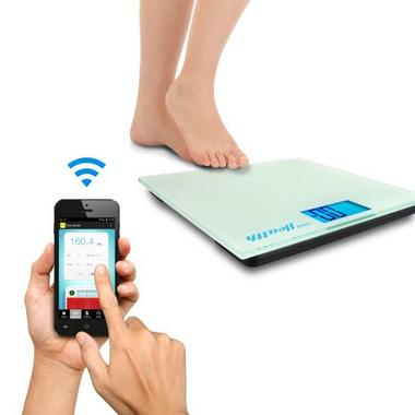 Pyle PHLSCBT2SL Bluetooth Digital Weight Scale Wireless Data Transfer + App Thumbnail 4