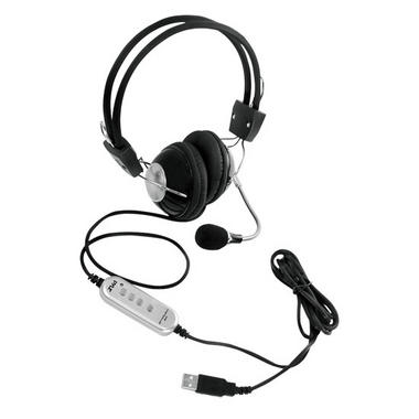 Pyle-Home PHPMCU10 Multimedia/Gaming USB Headset With Noise-Canceling Microphone Thumbnail 1