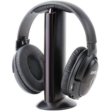 Pyle PHPW5 Professional 5 in 1 Wireless Headphone System with Built in Mic Thumbnail 1