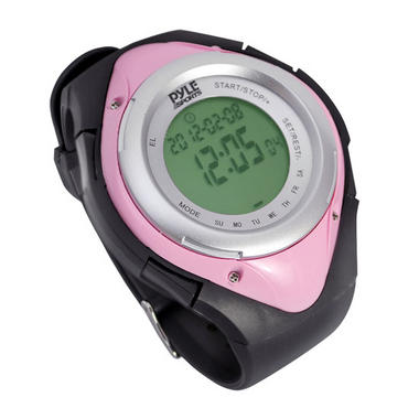 Pyle PHRM38PN Pink Heart Rate Monitor Watch W/Calorie Counter & Target Zones Thumbnail 3