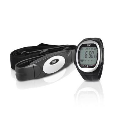 Pyle PHRM56 Heart Rate Watch Monitor 3D Walking Running Training Cardio Sensor Thumbnail 1