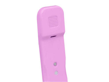 Pyle USA Corded Soft Touch Handset For iPhone iPad iPod And Android Phones Pink Thumbnail 3
