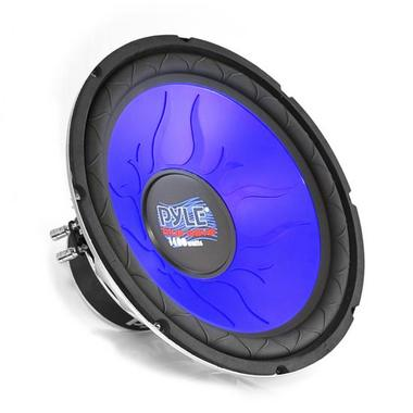 "Pyle Blue 4 Ohm DVC 12"" Inch 1200w In Car Subwoofer Sub Bass Driver Woofer Thumbnail 1"