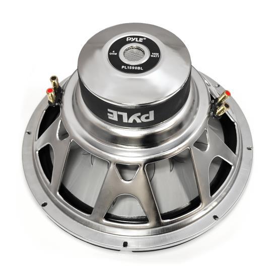 "Pyle Blue 15"" Inch 1400w Car Audio Subwoofer Driver SQ SPL Sub Bass Woofer Thumbnail 3"