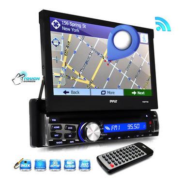 "PYLE PLBT73G 7"" DVD INDASH GPS  RECEIVER BLUETOOTH Thumbnail 3"