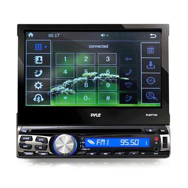 "PYLE PLBT73G 7"" DVD INDASH GPS  RECEIVER BLUETOOTH Thumbnail 4"