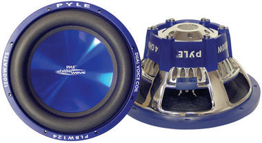 "Pyle PLBW124 12"" Inch 1200w Car Audio Subwoofer Driver Sub Bass Speaker Woofer Thumbnail 1"