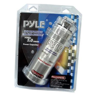 Pyle PCAPE50 5 Farad Car Audio Amp Amplifier Power Cap PowerCap 12v Capacitor Thumbnail 3