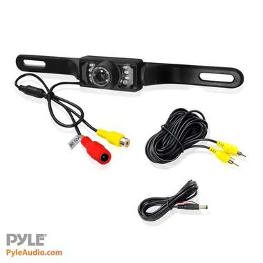 Pyle Numberplate Mount Rear View Reverse Reversing Camera With IR Night Vision Thumbnail 3