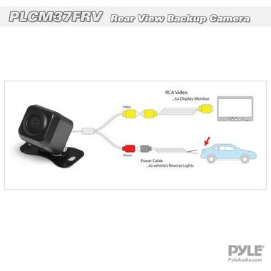 Pyle PLCM37FRV Pyle Car Camera W/ Front And Rear View Thumbnail 5