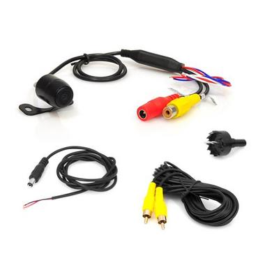 Pyle PLCM38FRV Vehicle From View & Rearview Backup Camera, Distance Scale Line Thumbnail 3