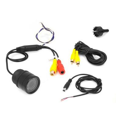 Pyle PLCM39FRV Universal Mount Car Rear & Front View TV Video Camera Kit Thumbnail 3