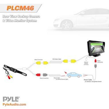 """PYLE PLCM46 4.3"""" TFT LCD CAMERA/  MONITOR Thumbnail 5"""
