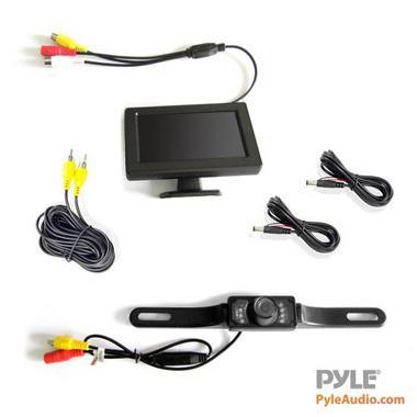 """PYLE PLCM46 4.3"""" TFT LCD CAMERA/  MONITOR Thumbnail 4"""