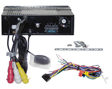 Pyle PLDMR3U In-Dash Marine CD/DVD Receiver with 3'' Built In Monitor Thumbnail 4