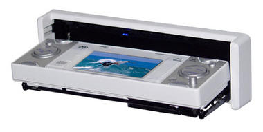 Pyle PLDMR3U In-Dash Marine CD/DVD Receiver with 3'' Built In Monitor Thumbnail 3