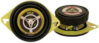 Pyle PLG3.2 3.5 inch 8cm 120W Two Way Pair Car Door Dash Shelf Speakers Thumbnail 1